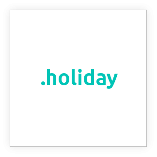 ثبت دامنه .holiday, خرید دامنه .holiday, دامنه .holiday