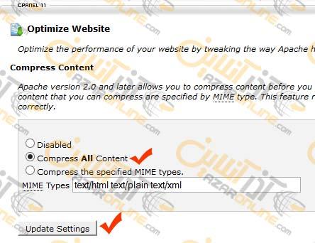 بهینه سازی سرعت لود وب سایت