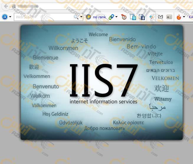 نصب IIS  در سرور ویندوز 2008