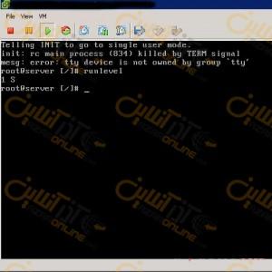 آموزش بازیابی پسورد 6 CentOS