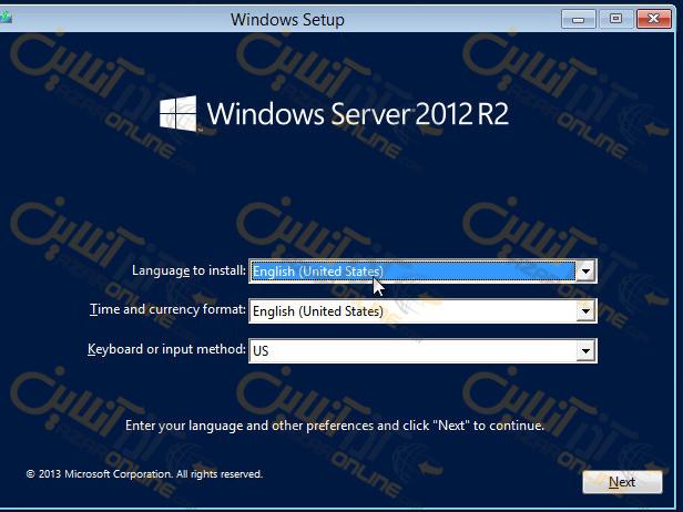 آموزش windows server 2012