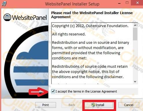 آموزش نصب WebsitePanel