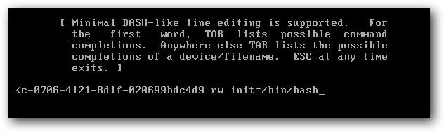 فراموشی پسورد ubuntu