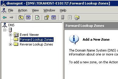 آموزش وصل کردن دامنه به سرور مجازی ویندوز 2003 - فوروارد زون
