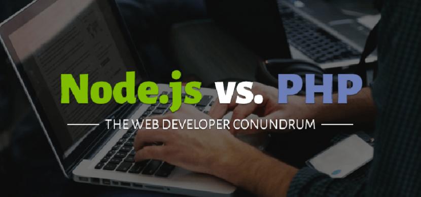تفاوت زبان برنامه نویسی php با Node.js