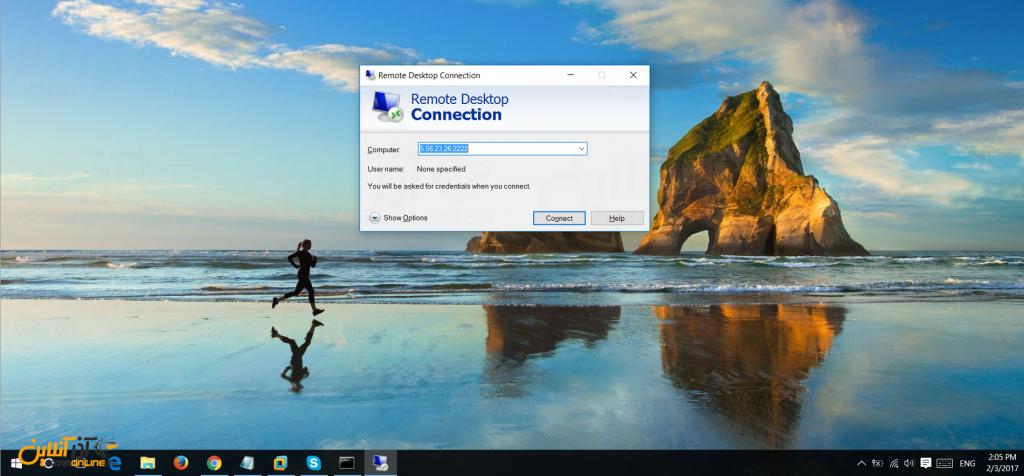 تغییر پورت Remote Desktop در ویندوز سرور 2012 - نحو باز کردن پورت