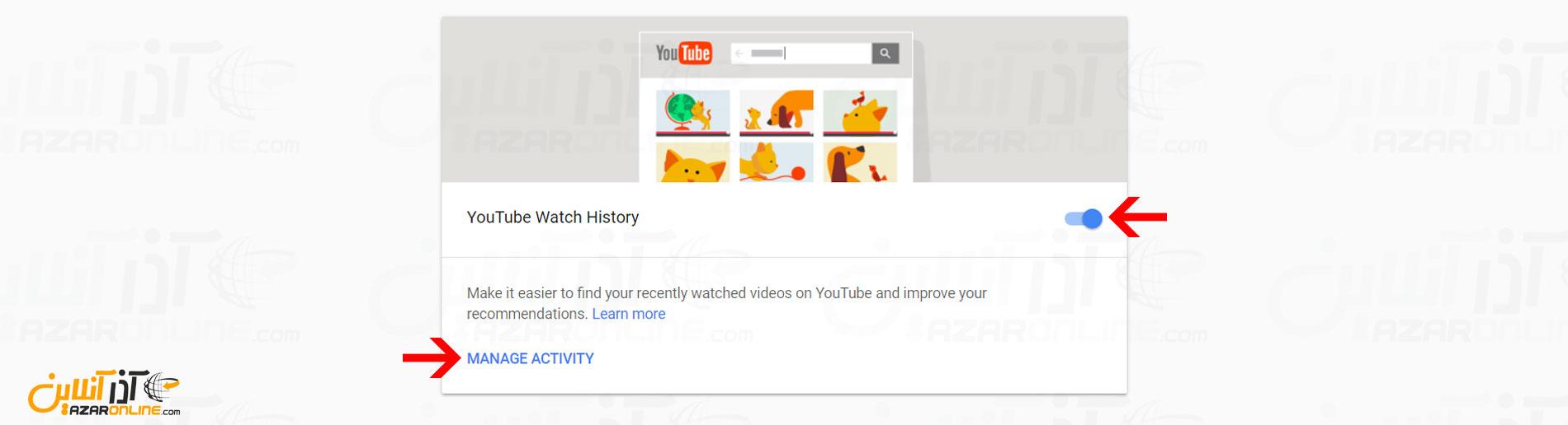 ویدئوهای دیده شده در یوتیوب